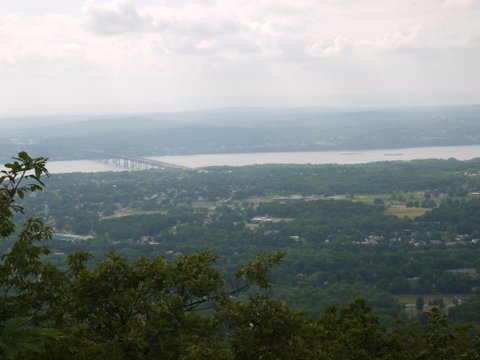 Newburgh-Beacon Bridge, as seen from Overlook Trail