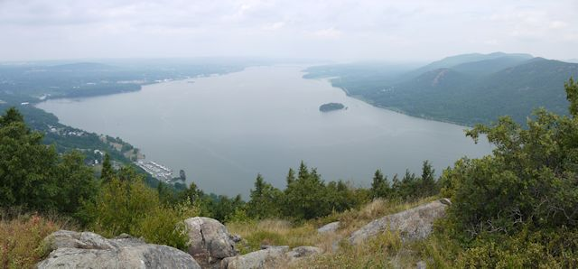Hudson River, from Storm King Mountain