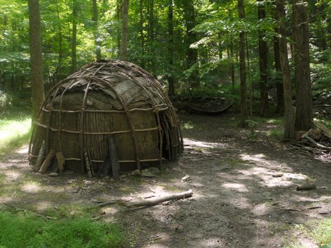 Delaware wigwam, Ward Pound Ridge Reservation, Westchester County, NY