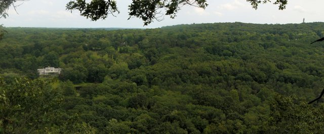 View from Raven Rocks, Ward Pound Ridge Reservation, Westchester County, NY